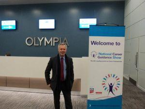 Alan at Olympia