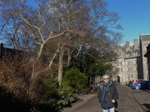 Visiting University of St Andrews, February 2015