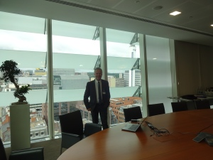 At KPMG's Birmingham offices in July 2015 where my colleague Sue Barr and I presented workshops for teachers at the company's Flagship event in conjunction with Teach First. In the same month we also presented at similar events at their Manchester and Birmingham offices.