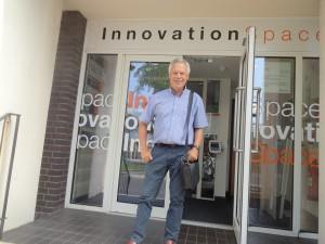 Visiting Innovation Space in Portsmouth, September 2016